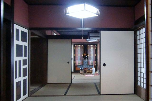 カミホム:和室ステージ